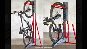 Indoor Bike Storage Vertical Bike Storage Youtube