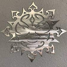 sun 24 large aluminum metal wall art