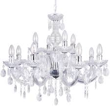 marie therese chandelier 12 light chandelier chrome fast free delivery