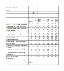 Daily Checklist Template 29 Free Word Excel Pdf