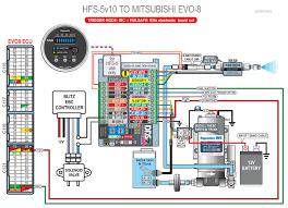 hfs 5 v10 install on evo 8 evolutionm mitsubishi lancer and i think this diagram should work your blitz ebc
