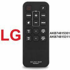 Remote soundbar LG AKB74815311 - Remote điều khiển loa thanh LG AKB74815311  AKB74815301