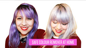 HOW TO REMOVE SEMI PERMANENT HAIR DYE  No Bleach  YouTubeHow To Wash Colors With Bleach