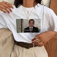 Summer Short Sleeve Harajuku T shirt <b>Women</b> Vintage <b>Funny</b> T ...