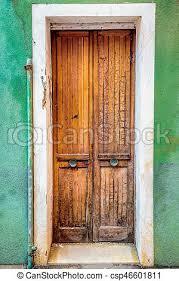 very old door csp46601811