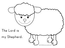 Jesus Is My Shepherd Psalm 23 Abcjesuslovesme