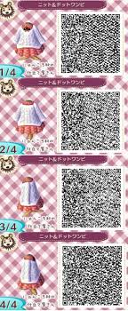 Sweater White Pink Cardigan Winter Fall Animal Crossing