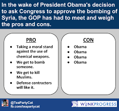 gop weighs the pros and cons of bombing syria winkprogress gop weighs pros and cons of syria bombing