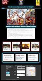 Website Design Springfield Il Route 66 Hotel Wordpress Website Design O3 Internet