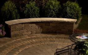 Backyard Retaining Wall Designs Gorgeous Riverland MultiPiece Retaining Wall Curve Set In Santa Fe