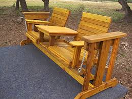 Glider Outdoor Wooden Glider Made By Quality Patio Furniture Texas Outdoor Furniture