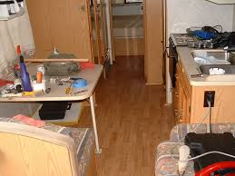 Kitchen Flooring Installation Rv Laminate Flooring Modmyrv