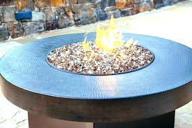 propane fire pit with glass beads outdoor gas fire pit glass gas fire pit glass round propane pits table with little beads