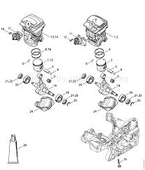 Stihl ms 251 chainsaw ms251 cbe 2 mix parts diagram cylinder