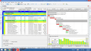 Create Project Plans Schedule And Gantt Chart Using Primavera P6