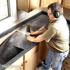 how to cut laminate countertop install recent