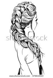 20 Braid Coloring Page Ideas And Designs