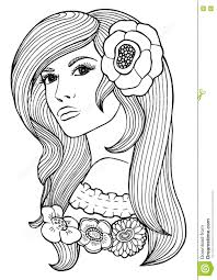 coloring book page for vector anti stress pattern stock colouring sheets