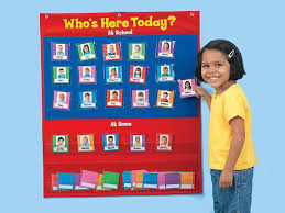 Whos Here Today Attendance Chart Classroom Attendance