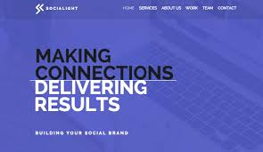 Template For Advertising Advertising Marketing Website Templates Business Wix