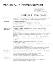 Chemical Engineer Resume Template Experienced Engineer Resume ...
