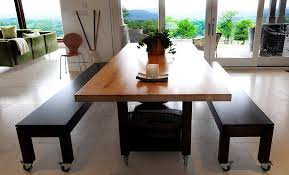 butcher block dining table. Dining Room Decorations : Butcher Block Table D