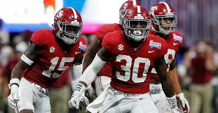 Alabamas First Depth Chart Of The Season Is Loaded From Top