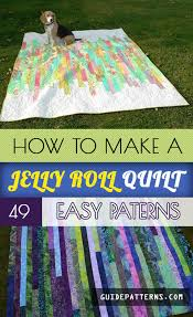 How to Make a Jelly Roll Quilt: 49 Easy Patterns | Guide Patterns &  Adamdwight.com