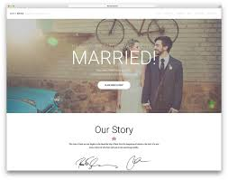 Wedding Website Template 24 Best WordPress Wedding Events Marriage Themes 2418 Colorlib 1