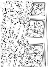 Free Pokemon Diamond Pearl Coloring Page