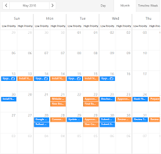 Group Scheduler Devextreme Scheduler Group Resources By Date V18 2