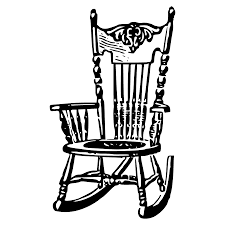 chair clipart. rocking chair clipart
