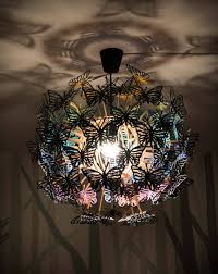 plywood lighting. Butterflies Lamp | Wooden Chandelier Boho Plywood Pendant Lighting Paper Butterfly Bedroom Decor Nursery Rainbow Baby A