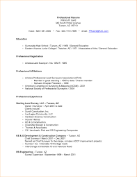 Human Voiced Resume Example Sample Resume With Professional Affiliations New Example 64