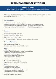 Er Nurse Resume Sample By Resume Writing On Deviantart