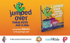 Amazon.com: C Jumped over Three Pots and a Pan and Landed Smack in the  Garbage Can (9780764357954): Jane, Pamela, Imtiaz, Hina: Books