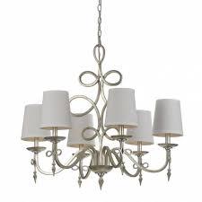af lighting 8431 6 light silver chandelier 8431 6h the home depot for 6 light chandelier