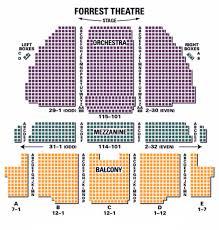 Forrest Theater Philadelphia Seating Chart Forrest Theatre Seating Chart Theatre In Philly