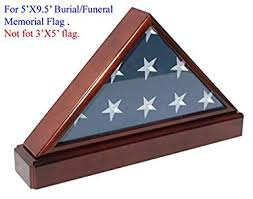burial flag shadow box. Plain Shadow BurialFuneral Flag Display Case Military Shadow Box With Pedestal Stand  Solid Wood In Burial