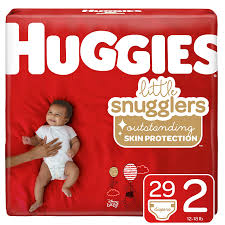 Little Snugglers Size Chart Huggies Little Snugglers Baby Diapers Size 2 29 Count