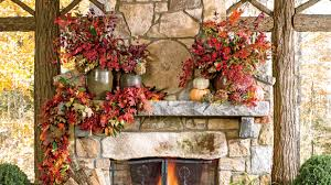 cinnamon broom decorating ideas fall decorating ideas southern living