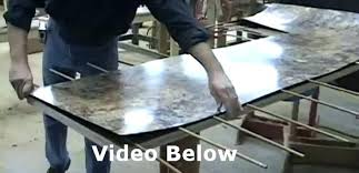 making laminate countertops look like granite making a how