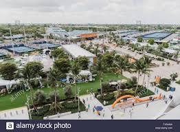 miami gardens florida usa 27th mar 2019 atmosphere during day ten at the miami open tennis