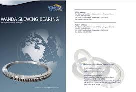 Slewing Ring Bearing Catalog Xzwd
