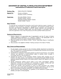 cover letter samples for athletic trainers athletic resume sample cover letter apply internship athletic trainer middot athletic training graduate assistant