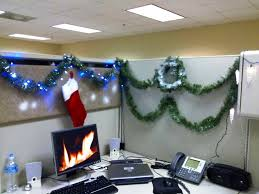 office decor for christmas. Image Of Cubicle Christmas Decoration Office Decor For H