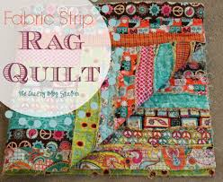 How to Make a Fabric Strip Rag Quilt - The Crafty Blog Stalker &  Adamdwight.com