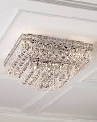 quick look prodselect checkbox eight light crystal flush mount ceiling fixture