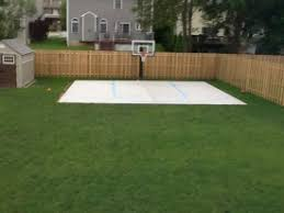 backyard ideas basketball court. the pro dunk silver is lowered down and an aerial shot taken of whole backyard ideas basketball court e