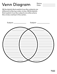 best photos of venn diagram with writing lines   printable venn    venn diagram   lines pdf